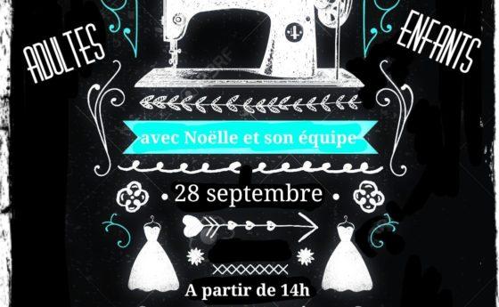Atelier couture du 28 septembre 14h complet   Les inscrites :  – Flavie Catteau …