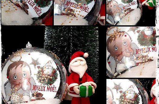 Nouvelle boule de Noël pour le marché de Noël de A L'ASSAUT