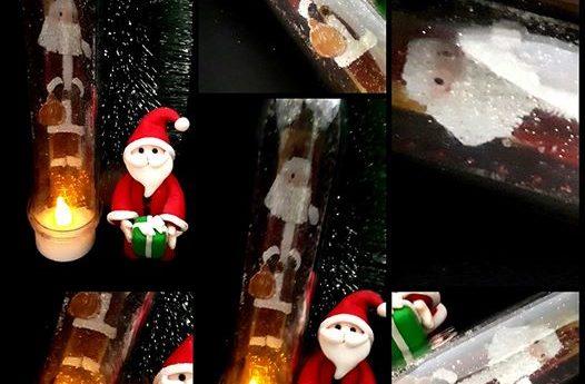 Une veilleuse de Noël disponible au marché de Noël de A L'ASSAUT