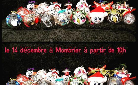 Voici un petit aperçu des boules de Noël pour le marché de À L'ASSAUT le 14 déce…
