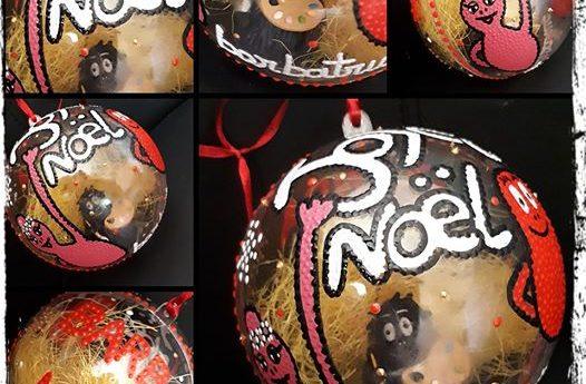 La boule de Noël Barbatruc finie ….