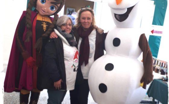 Hė hé hė qui a eu la chance de rencontrer OLAF ET ANNA c'est nous