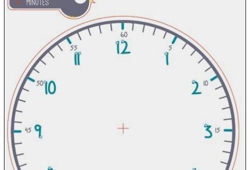 Pour apprendre l'heure création d'une horloge fichier imprimable joint ci dessou…