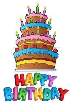 Aujourd'hui je me permet de publier ce gâteau pour un anniversaire oui !!! …